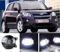 eCityBuy Toyota Urban Cruiser Fog Lights LED Guide Daytime Running Lights Q5 Lens Foglights -2PCS