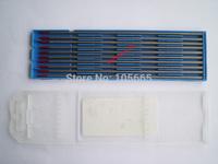 "Tungsten rod 10pcs 3.2*175mm 1/8x7"" WT20 Thoriated Tungsten Electrode for TIG welding torch ACDC TIG PULSE TIG  welding machine"