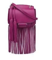 Designer brand fringe bag sacs woman cross body bag leather handbags tassel messenger bags with strap blue black clutch 4colors