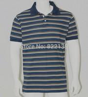 2014 Summer tShirts For Mens Casual Men's Sport t-shirts Free Shipping wholesale Short Sleeve Tee Fashion stripe t Shirt Men