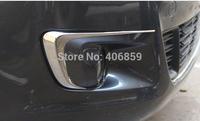 2014 Citroen C-Elysee ABS Chrome Car Front Fog Light Fog Light Cover