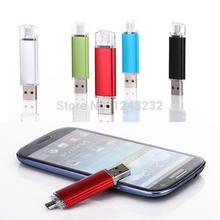New 64GB Smart Phone Tablet PC USB Flash Drive pen drive OTG external storage micro 64g usb drive memory stick usb 2.0(China (Mainland))