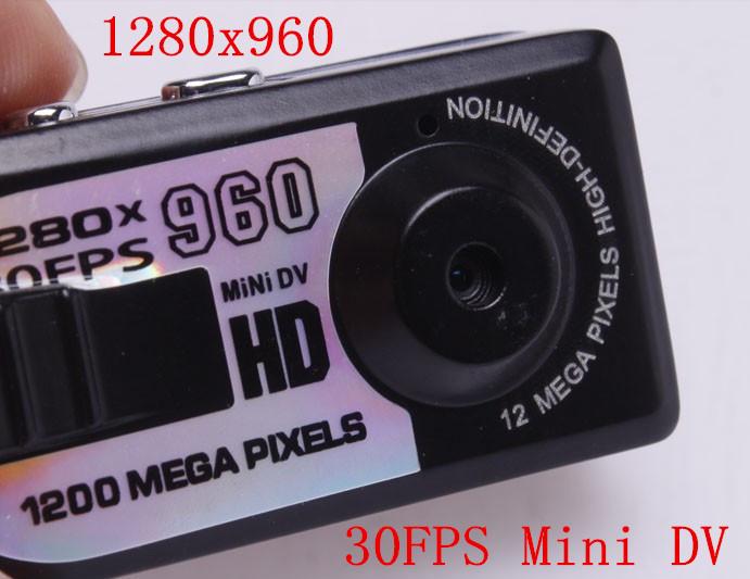 Hot mini Sports DV HD Video Q5 Camera 1280x960 HD with retail package(China (Mainland))