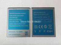 "2pcs/lot Free Shipping Android Phone High Quality Original Battery For 5.5"" JIAKE N900W MTK6582 Capacity 2800mAh Phone Battery"