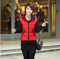 Small wadded jacket women's slim outerwear winter fashion design small short cotton-padded jacket cotton-padded jacket