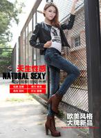 Autumn Jeans female fashion  slim pants trousers pencil pants