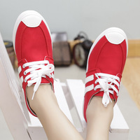 Free Shipping~New Arrival Fashion Women Canvas Shoes Jeans Sneakers Flats  Female Sneakers 3 colors Fast Delivery sy048