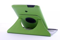 For LG G Pad V400 7.0 360 Degree Rotating Smart Tablet Stand 2 Folio Slim Back Holder PU Leather Cover Case Via Free Shipping