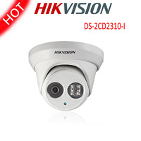 Free shipping Hikvision DS-2CD2310-I Mini Dome Motion Detection Waterproof IP66 IR 20m Nightvision IP Security CCTV PoE Camera