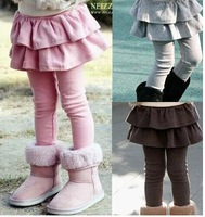 New 2014 High quality spring autumn/fall girl legging girls skirt-pants girls girls trousers children clothing kids pants