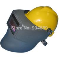With Construction helmet Solar auto darkening welding helmet/eyeshade/face mask for MAG MIG TIG welding machine and cutting tool