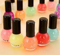 Glowing Varnishes Candy Noctilucent Nail Polish 12 Colors Optional Colors Light Nail Varnish Matte Fluorescent Nail Polish