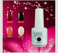 Hot selling Gelishh Nail Polish Soak Off Nail Gel For Salon UV Gel 242Colors 15ml supply by alina she free shipping