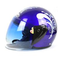 Open Face Ebick Helmets Motorcycle Helmets with Neckerchief Winter Helmet
