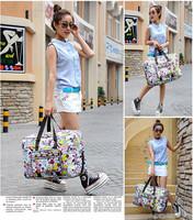 New Women Travel Tote Handbags Large Capacity Travel Bag Fashion Cartoon Waterproof Crossbody women Free Shipping