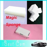 100pcs/lot Free shipping Car washer 2013 hot sale multi-functional Magic Sponge Eraser Cleaner, 100x60x20mm wholesale boy toy