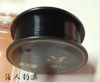 Hot Freeshipping Stronger Bite Protecting 100M Black Main Line Fly  Fluorocarbon Braided Fishing Line, Fishing Material