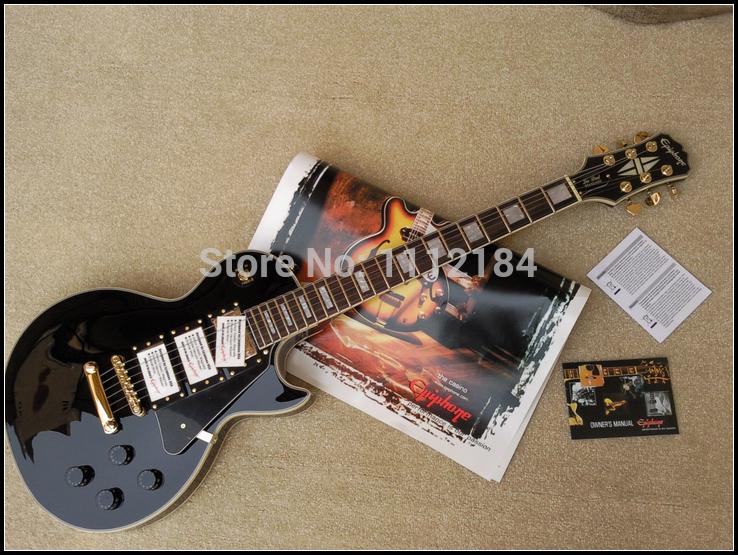 New hot 2014 electric guitar set maple guitar body rosewood fingerboard guitar bag included(China (Mainland))