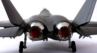 free shping J31 1:32 aircraft models stealth Fighter plane models