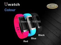 The newest health wrist bluetooth 4.0 health u watch 3d Pedometer Sleep Monitoring WIFI