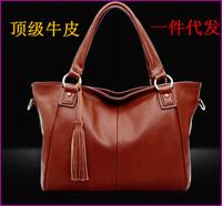 women handbag shoulder bag genuine leather designer tassel brand women messenger bag fashion women tote