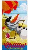 New  FROZEN OLAF Summer Chillin Beach Bath Towel 100%Cotton big size 150x75cm