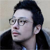 Ninety wooden counters sagawa fujii aso A914 metal box hawksbill amber myopia frames glasses