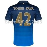 Toure Yaya Away Jersey 14/15