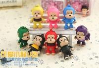 W19 Wholesale 10pcs/set Monkey toy cartoon 2.0 usb pen drive Flash disk memory stick pendriver gift 4GB 8GB 16GB 32GB