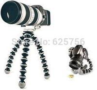 Free Shipping + High Quality Brand 2pcs/lot Medium-Sized Octopus Tripod Lightweight Universal and Fashion Flexible Camera Tripod