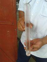 High Temperature Resistant 3.3 Borosilicate Tempered Gauge Glass