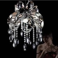 Diameter 75cm  Lotus crystal chandelier modern minimalist stainless steel / living room / dining room / dining room