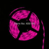 2rolls Pink Color SMD 5050 300LED LED Strip Rope Light IP65 Waterproof DC 12V Decoration Light