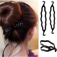 3pcs New Wholesale Lot Magic Bun Hair Twist Braid Tool Styling Clip Care Easy Hair Accessories Free Ship