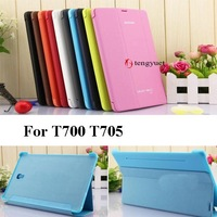 T700 Business Ultra Slim Thin Leather Case BOOK Smart Cover For Tablet Samsung Galaxy Tab s 8.4 T700 T705