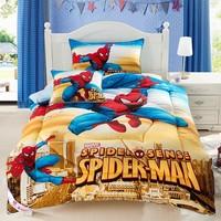 Free  Shipping! New Arrival Cartoon Spiderman Kids Quilt Children Cotton Quilt Comforter 150*200cm Winter Warm Top Quality