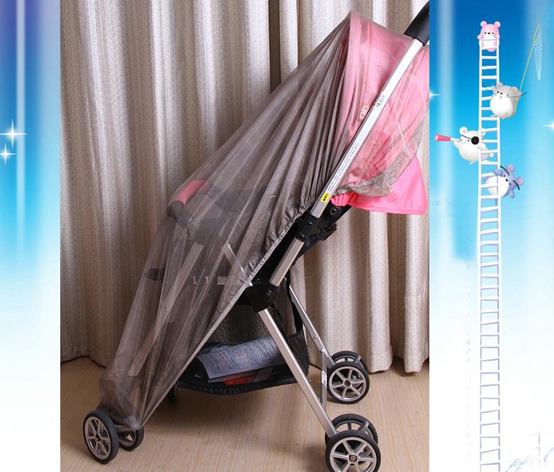 Baby cart shielding mosquito net