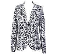 2014 new autumn women's clothing European Style Fashion female Long Sleeve Slim ladies Soft Leopard Blazers casacos femininos 5