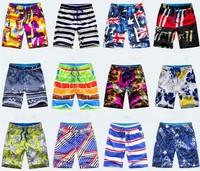2014 new fashion beach shorts for men Swimwear L-4XL Board shorts male Sports loose Swimsuit Beach Pants Shorts Free Shipping
