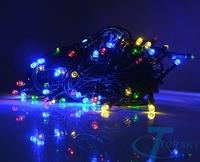 Multi-Color Solar Powered 100 LED Outdoor Garden String Party Fairy Lights Lamp luz da corda solar,