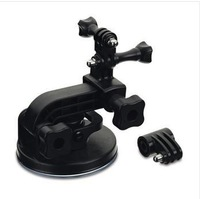Original accessories Camera Tripod Mount Adapter with Suction Cup Mount For GoPro HD HERO 3/2/1 Camera