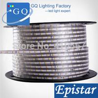 CP 1M 5050 LED strip 220V 230V 240V white/warm white Waterproof flexible SMD led strips IP65 + Free Plug