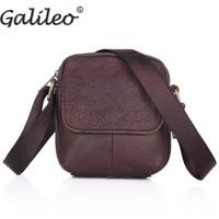 Men's handbags new brand popular PU leather vintage style casual students shoulder crossbody messenger handbags for men