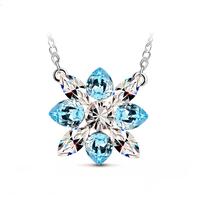 For nec  klace quality elegant Women austria crystal pendant necklace - - g128