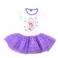 Baby Girl's Frozen Summer Dress Girls Cartton Tutu princess Dress Sleeve for Kids