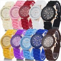 Women and men's fashion sport Quartz candy color watch WA019