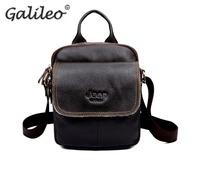 men's handbags fashion trendy PU leather male brown black casual crossbody shoulder messenger small capacity bags