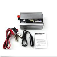 12V DC to AC 110V/220V Car Auto Power Inverter Converter Adapter Adaptor 500W USB