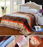 180*200CM cloud mink blanket / coral fleece flannel blanket / thickened golden mink cashmere air conditioning blanket bedspread