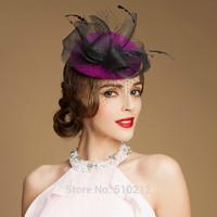 Export French ! top grade wedding hats and fascinators party wedding hat veils top hat mini